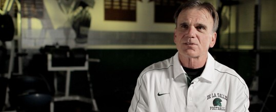 Watch our Sports Illustrated interview with De La Salle's coach, Bob Ladouceur, subject of the recent Hollywood film, 'When the Game Stands Tall.'